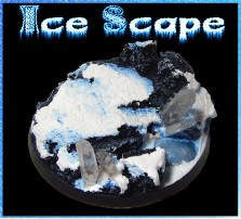 60mm Ice Scape Round Base A
