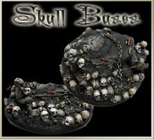 60mm Skull Round Base B