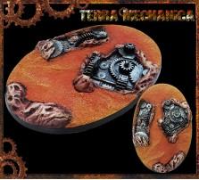 105 x 70mm Terra Mechanica Oval Base A