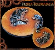 130mm Terra Mechanica Round Base A
