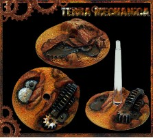 32mm Terra Mechanica Flying Bases - Set of 2 - Without Stands