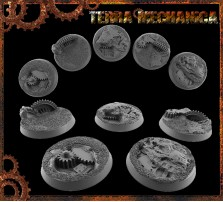 32mm Terra Mechanica Round Bases - Set of 4