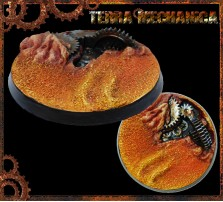50mm Terra Mechanica Round Base A