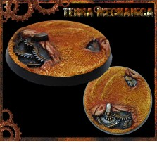 50mm Terra Mechanica Round Base B