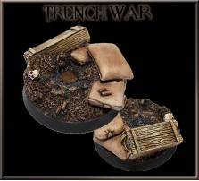 40mm Trench War Round Base A