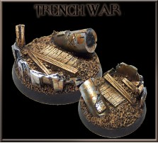 40mm Trench War Round Base B