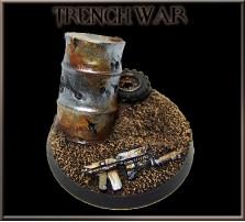 40mm Trench War Round Base C