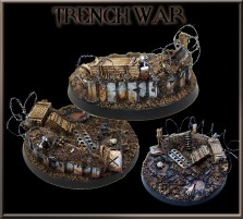60mm Trench War Round Base A
