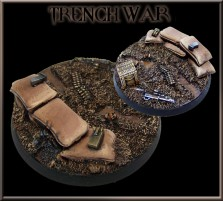 60mm Trench War Round Base B