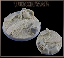60mm Trench War Round Base C