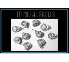 10 Metal Skulls