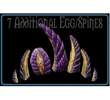 Alien Virus Spines/Egg - Set of 7