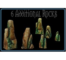 Thunder Mountain Rocks - Set of 6